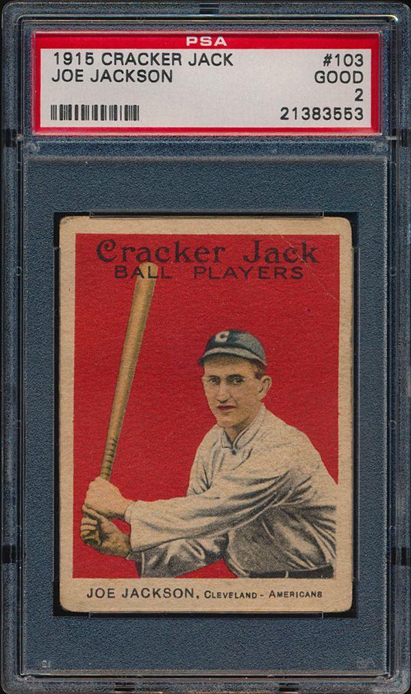 Need your input please 1915 Cracker Jack 103 Jackson card. 1016a_11