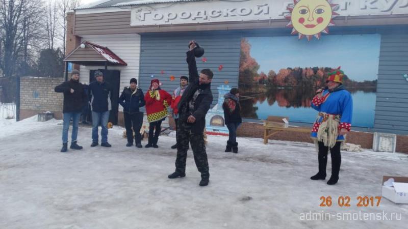 """""""Широкая Масленица"""" в посёлке Пржевальское 1011"""