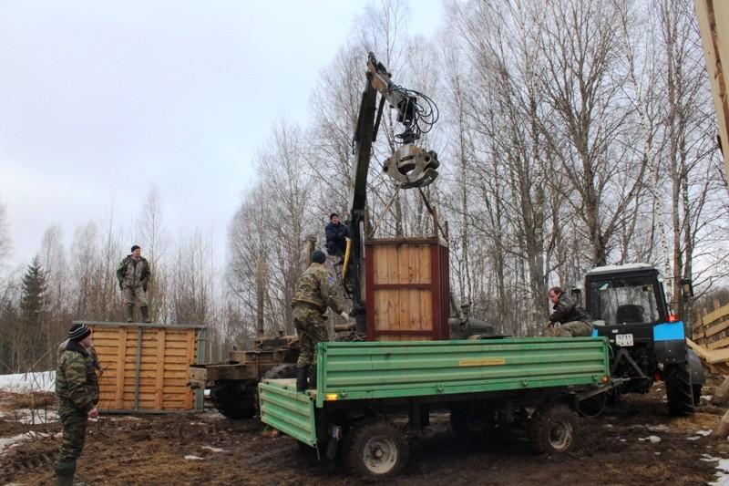 В «Смоленском поозерье» будут разводить зубров 126