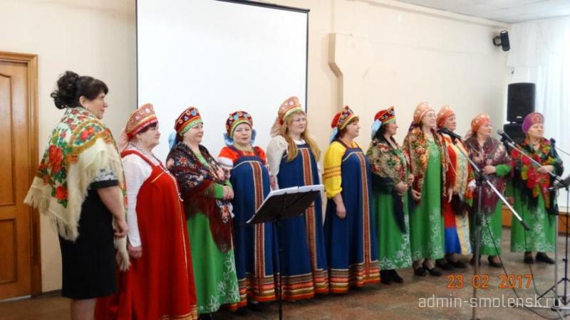Праздничный концерт ко Дню защитника Отечества  214