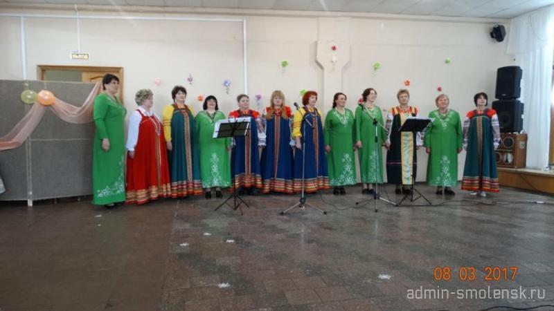 Праздничный концерт «Вы прекрасны, женщины России» 316