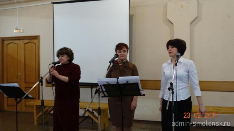 Праздничный концерт ко Дню защитника Отечества  411