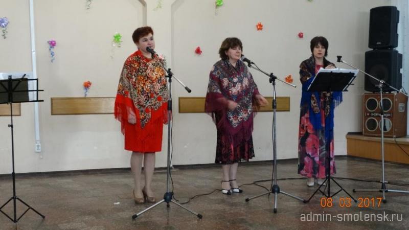 Праздничный концерт «Вы прекрасны, женщины России» 414