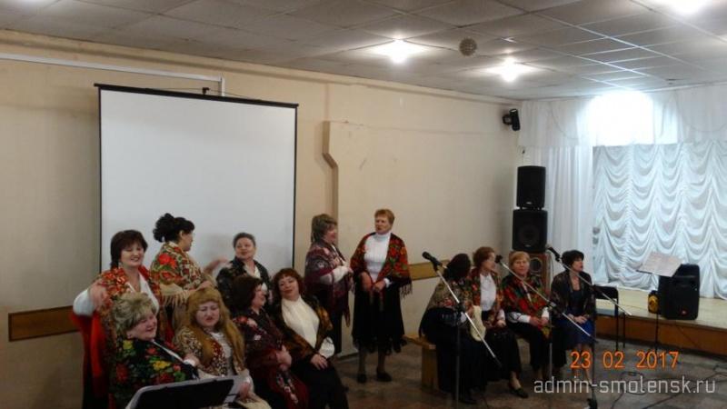 Праздничный концерт ко Дню защитника Отечества  610