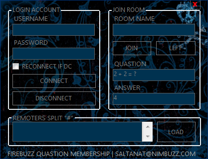 FireBuzz Quastion Membership +Mini Bot with remoter By Saltanat 2014-012
