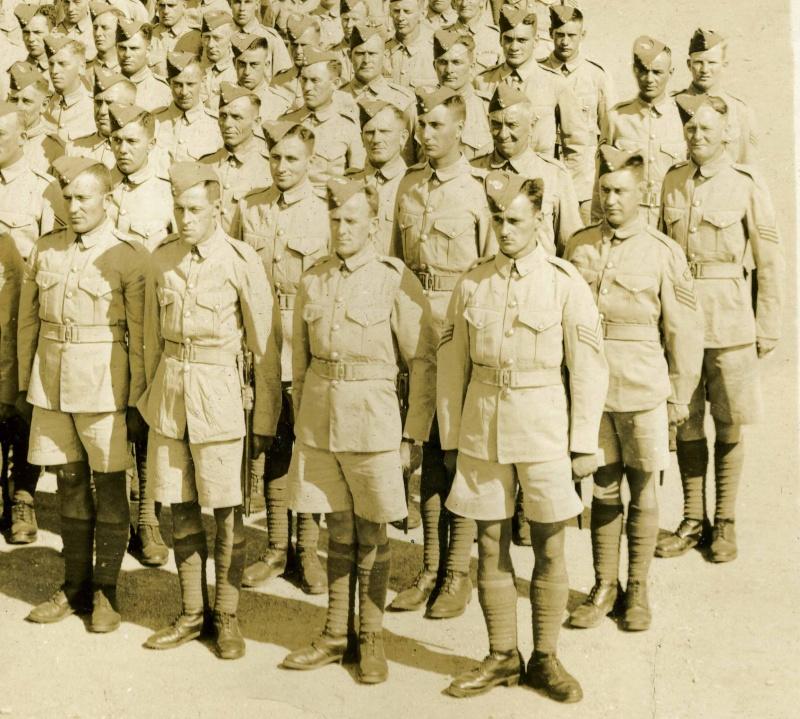 Royal Canadian Regiment Impression (circa 1939) and Canadian Summer Service Dress Algonq10