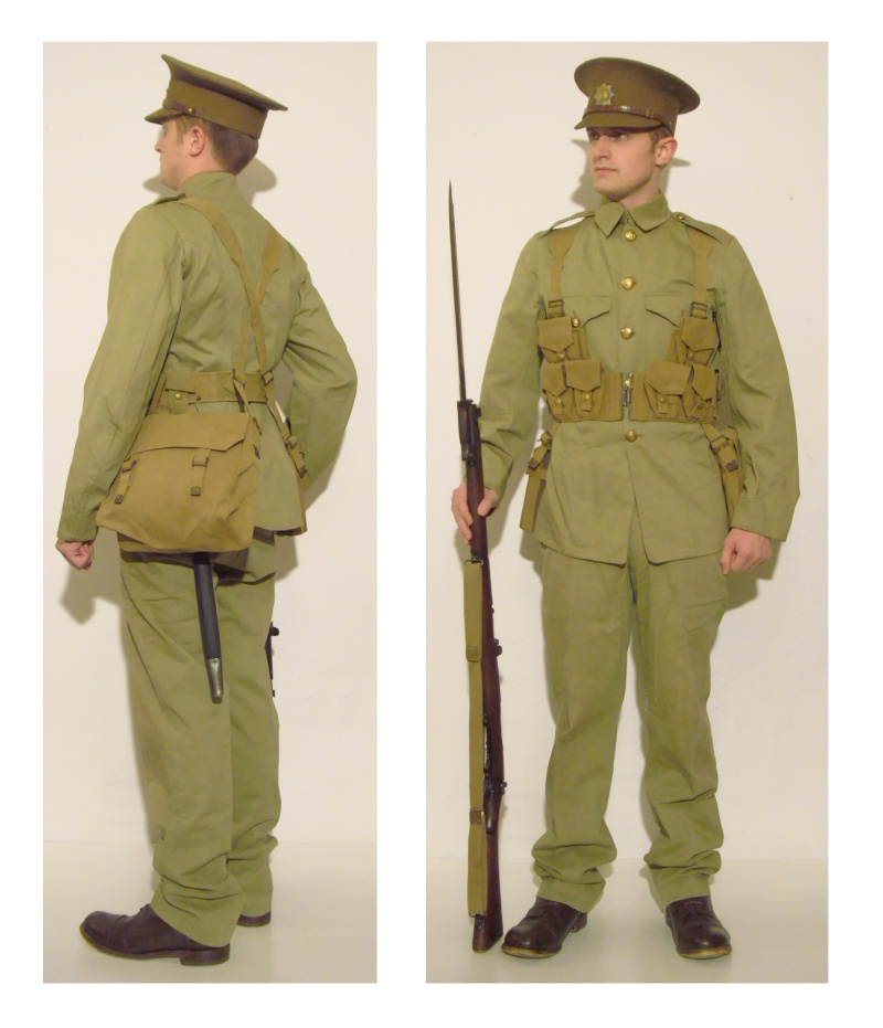 Royal Canadian Regiment Impression (circa 1939) and Canadian Summer Service Dress Dsc07710