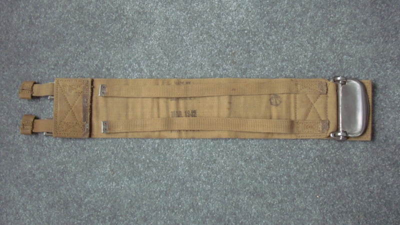 Can anybody identify this 1942 Canadian Parachute/Aircraft Belt? Dsc08311