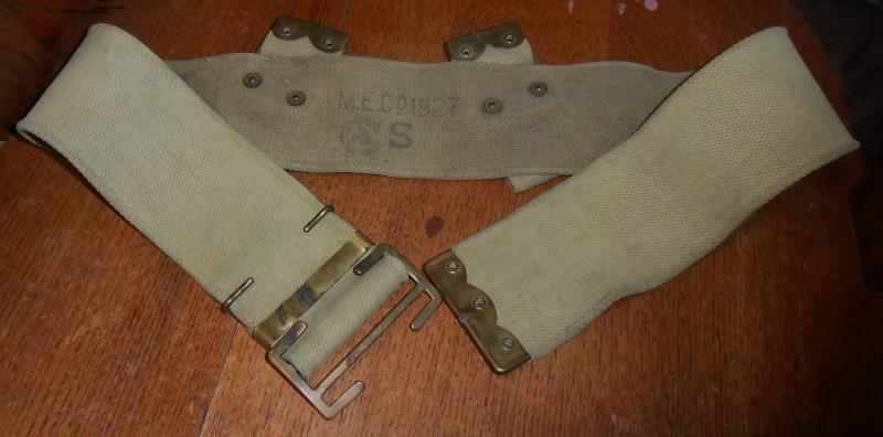 Interwar Canadian-made Webbing T2ec1610