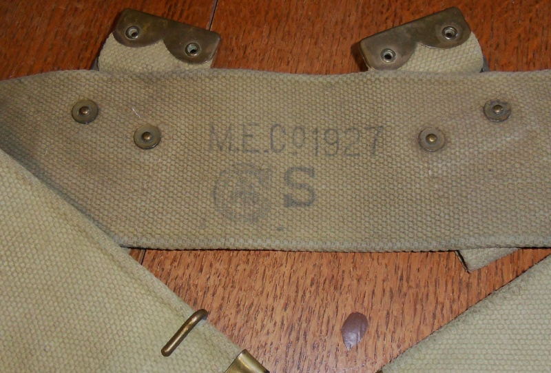 Interwar Canadian-made Webbing T2ec1611