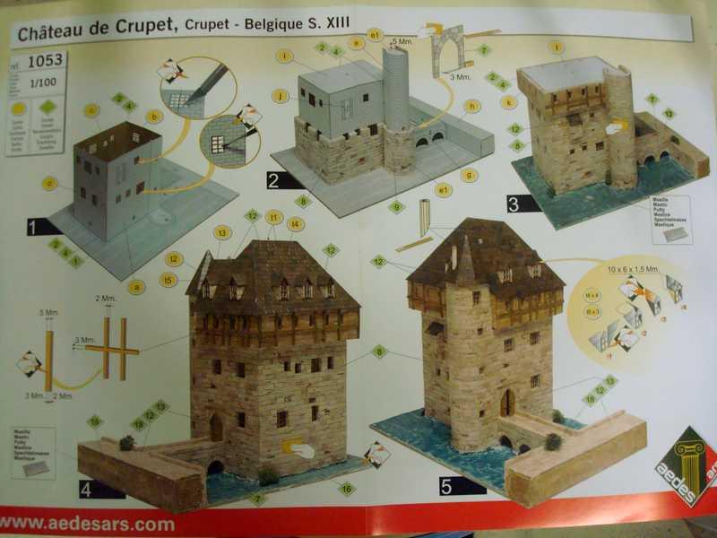 Ouvre-boîte Château de Crupet [Aedes Ars 1/100] 410