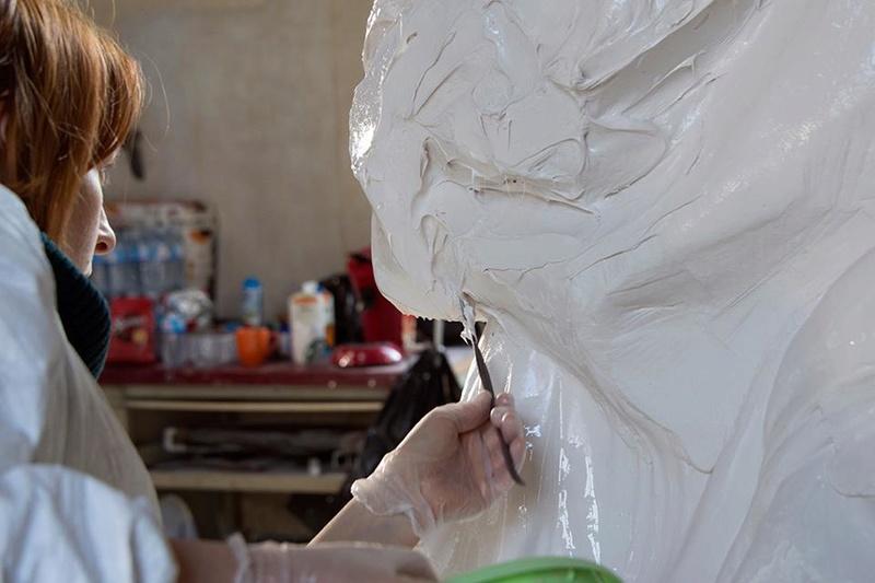 Visite à l'atelier de restauration des sculptures du C2RMF - Page 2 18813710