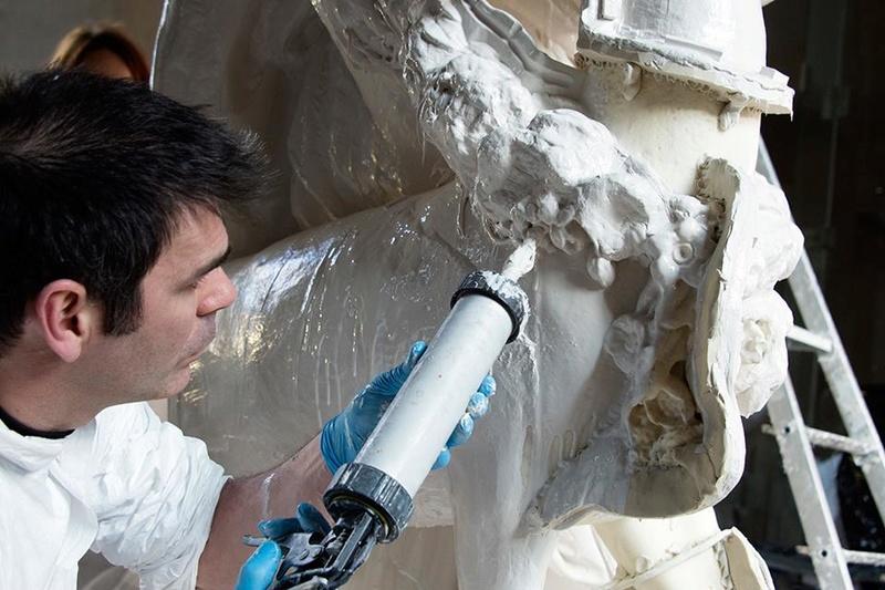 Visite à l'atelier de restauration des sculptures du C2RMF - Page 2 18836010