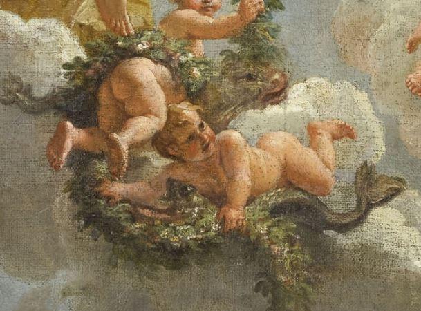 Le centaure, une créature fabuleuse à Versailles  Poisso10