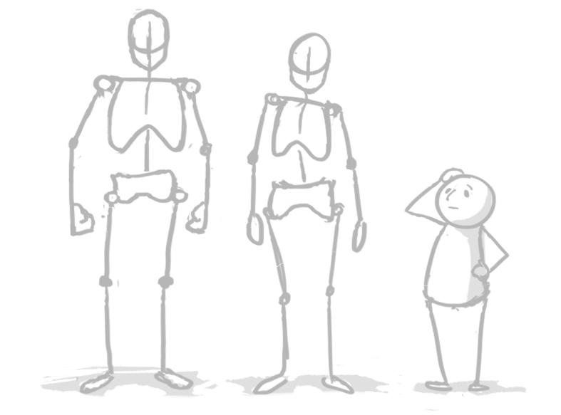 [Conseil] Les bases du dessin: Le corps humain Tuto_c14