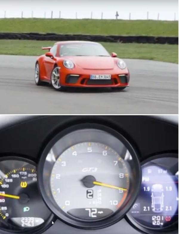 Chris Harris Reviews New 911 GT3 Porsche 00b26
