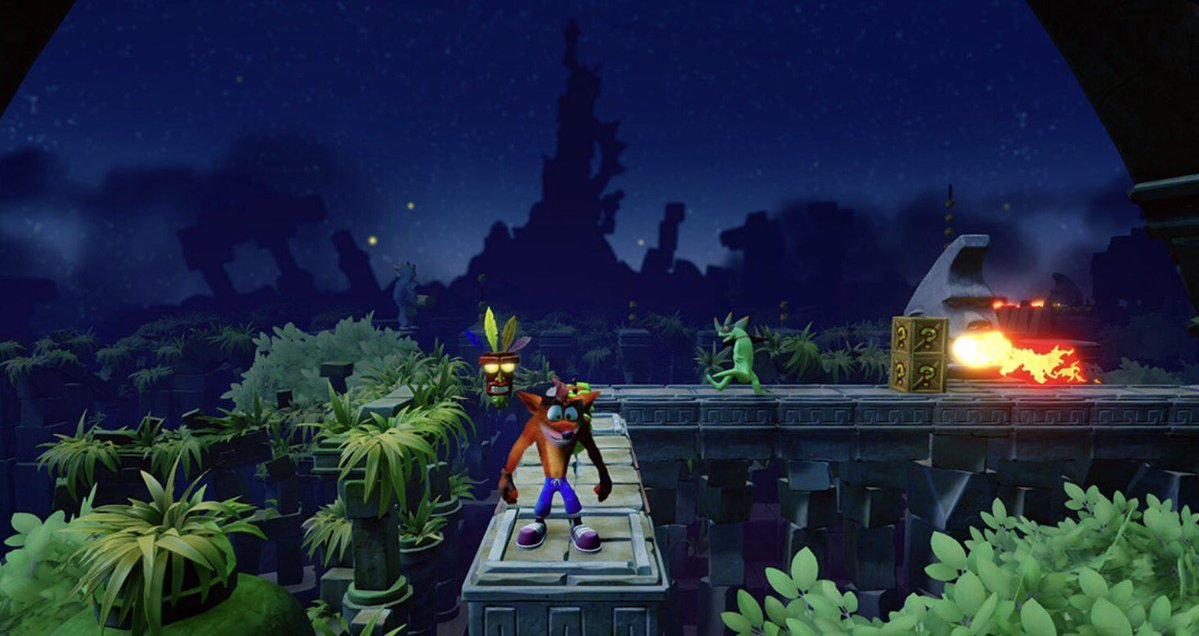 Así luce Crash Bandicoot: N.Sane Trilogy en 4K Crash_10