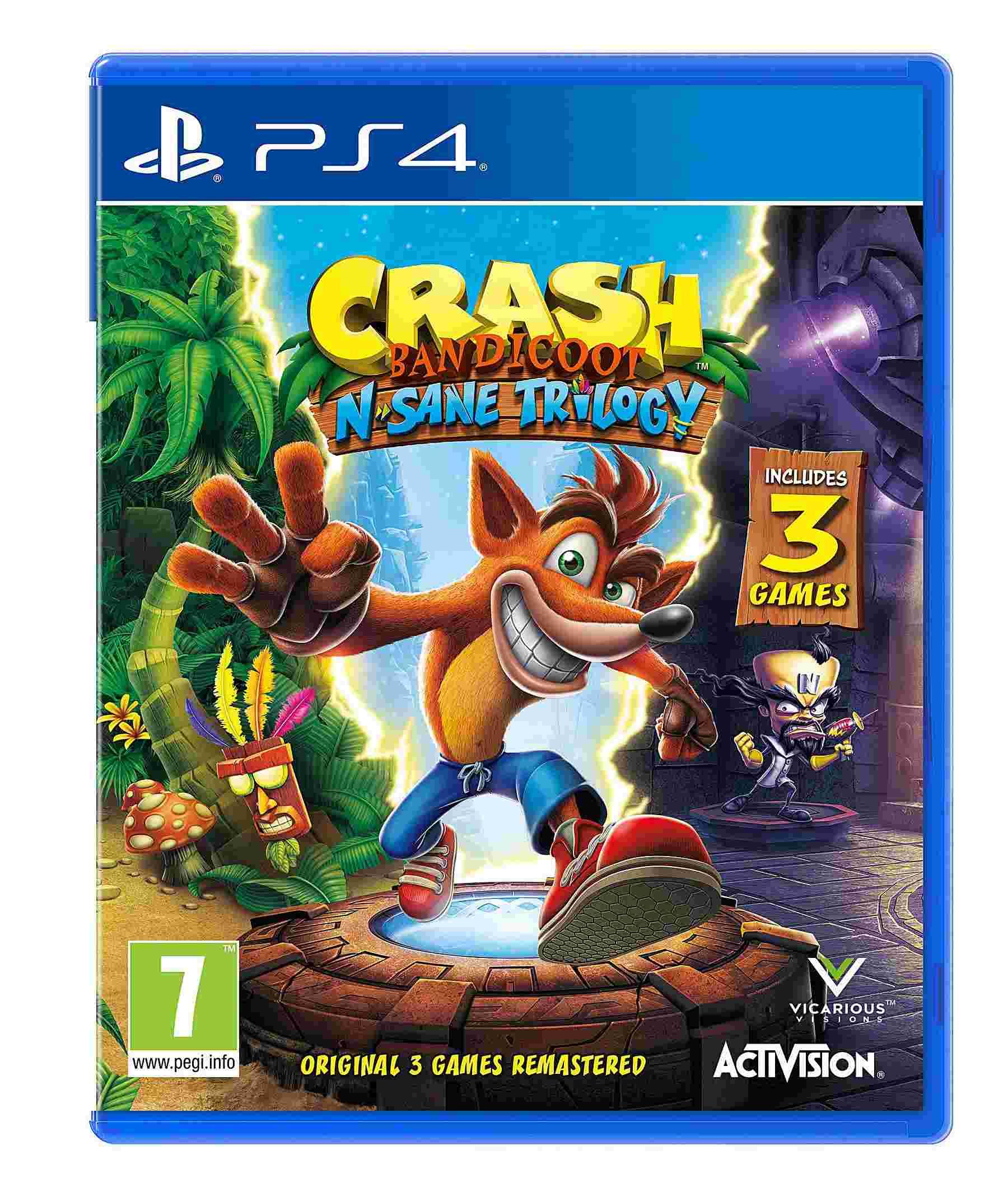 ¿Remake o Remastered? Crash Bandicoot N.Sane Trilogy Dq635_10