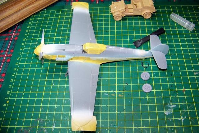 """Bf 109 G2"""" le dernier vol 30/09/1942 """"  """"der Stern von Afrika"""" Hasegawa 1/48( FINI ) 100_1316"""