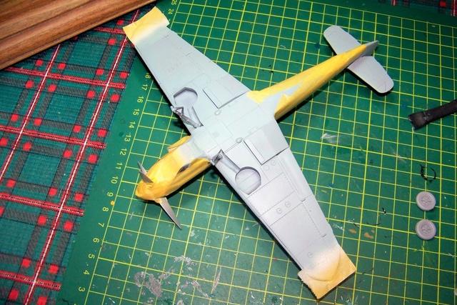 """Bf 109 G2"""" le dernier vol 30/09/1942 """"  """"der Stern von Afrika"""" Hasegawa 1/48( FINI ) 100_1317"""