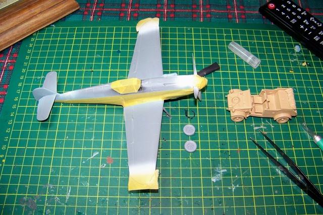 """Bf 109 G2"""" le dernier vol 30/09/1942 """"  """"der Stern von Afrika"""" Hasegawa 1/48( FINI ) 100_1318"""