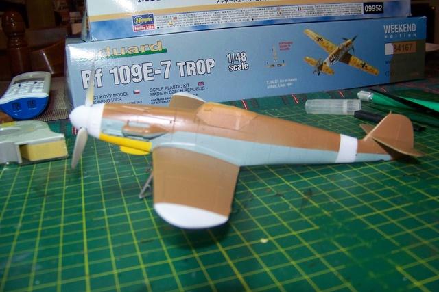 """Bf 109 G2"""" le dernier vol 30/09/1942 """"  """"der Stern von Afrika"""" Hasegawa 1/48( FINI ) - Page 2 426510"""