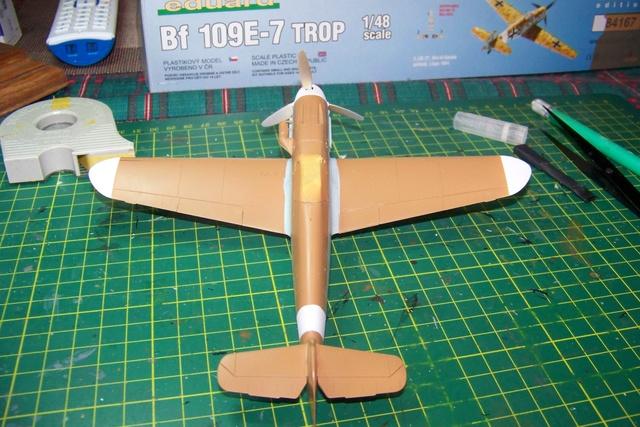 """Bf 109 G2"""" le dernier vol 30/09/1942 """"  """"der Stern von Afrika"""" Hasegawa 1/48( FINI ) - Page 2 427710"""