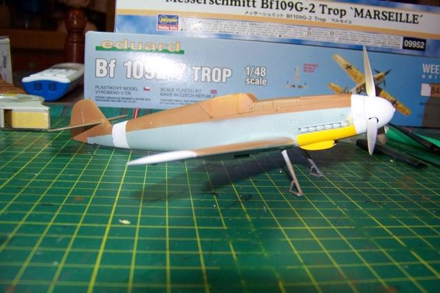 """Bf 109 G2"""" le dernier vol 30/09/1942 """"  """"der Stern von Afrika"""" Hasegawa 1/48( FINI ) - Page 2 428710"""