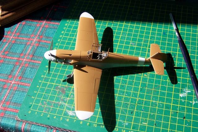 """Bf 109 G2"""" le dernier vol 30/09/1942 """"  """"der Stern von Afrika"""" Hasegawa 1/48( FINI ) - Page 2 480210"""