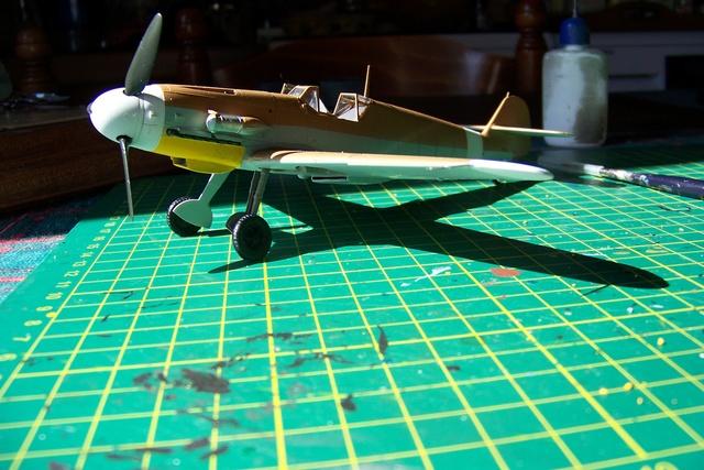 """Bf 109 G2"""" le dernier vol 30/09/1942 """"  """"der Stern von Afrika"""" Hasegawa 1/48( FINI ) - Page 2 481210"""