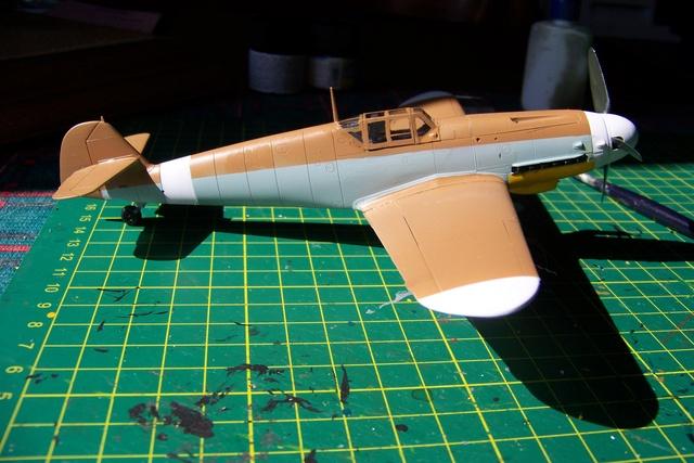 """Bf 109 G2"""" le dernier vol 30/09/1942 """"  """"der Stern von Afrika"""" Hasegawa 1/48( FINI ) - Page 2 482210"""