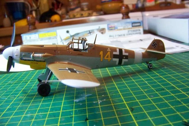 """Bf 109 G2"""" le dernier vol 30/09/1942 """"  """"der Stern von Afrika"""" Hasegawa 1/48( FINI ) - Page 2 488910"""