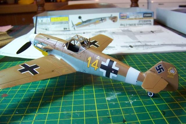 """Bf 109 G2"""" le dernier vol 30/09/1942 """"  """"der Stern von Afrika"""" Hasegawa 1/48( FINI ) - Page 2 490110"""
