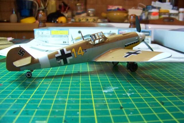 """Bf 109 G2"""" le dernier vol 30/09/1942 """"  """"der Stern von Afrika"""" Hasegawa 1/48( FINI ) - Page 2 491110"""
