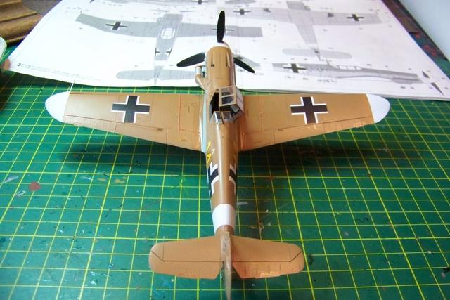 """Bf 109 G2"""" le dernier vol 30/09/1942 """"  """"der Stern von Afrika"""" Hasegawa 1/48( FINI ) - Page 2 492110"""