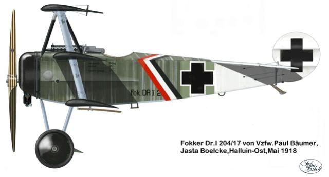 Ouvre-boîte Fokker DR.I  [Eduard 1/72] 59_1510
