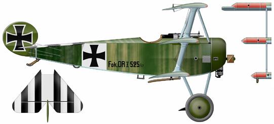 Ouvre-boîte Fokker DR.I  [Eduard 1/72] 59_3910