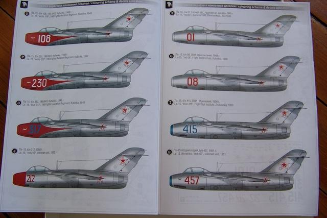 Lavochkine La15 Fantail 795410