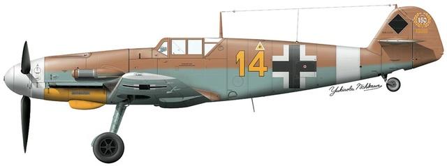 """Bf 109 G2"""" le dernier vol 30/09/1942 """"  """"der Stern von Afrika"""" Hasegawa 1/48( FINI ) - Page 2 Hsgs8210"""