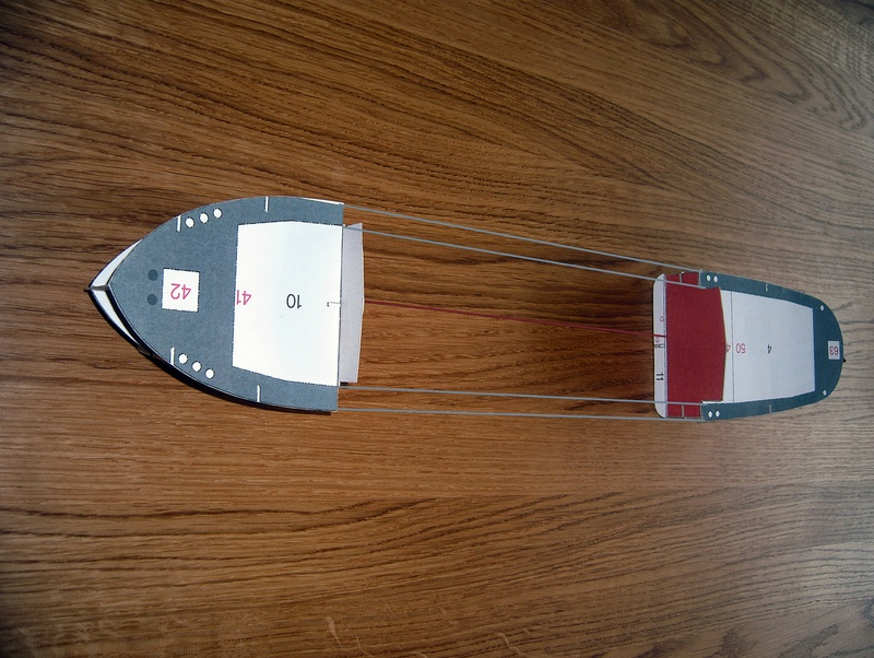 Binnenschiff BARGE / Schreiber 1:100 als RC-Modell Dsci0012