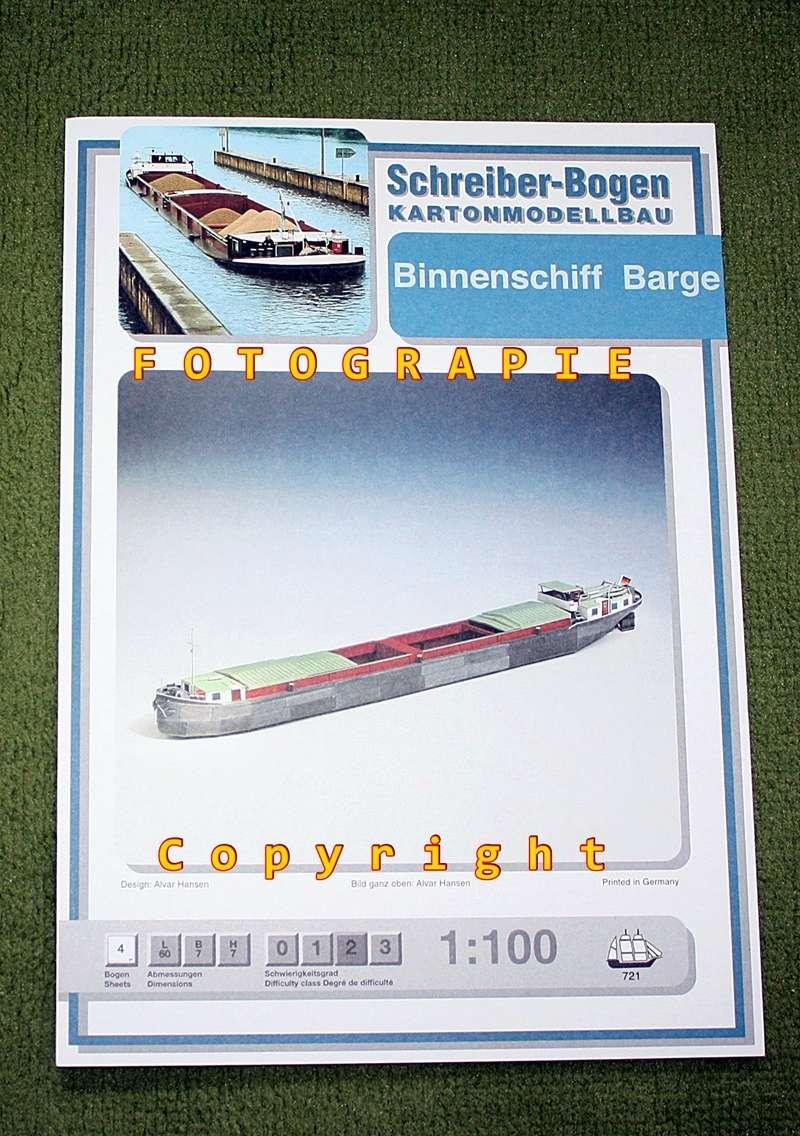 Binnenschiff BARGE / Schreiber 1:100 als RC-Modell Img_0115
