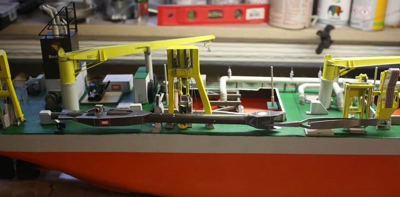 WILLEM VAN ORANJE, Saugbaggerschiff der Niederlande - Seite 11 Unbena10