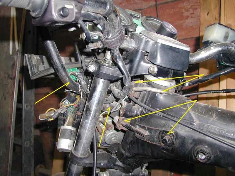 Verkleidungshalter - Geweih / Montage am CX Standardrahmen bitte um Bild Pichle14