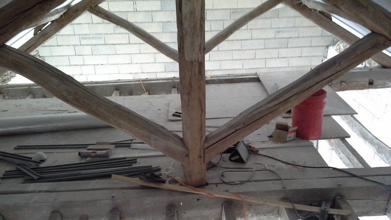 Modification charpente 20140210