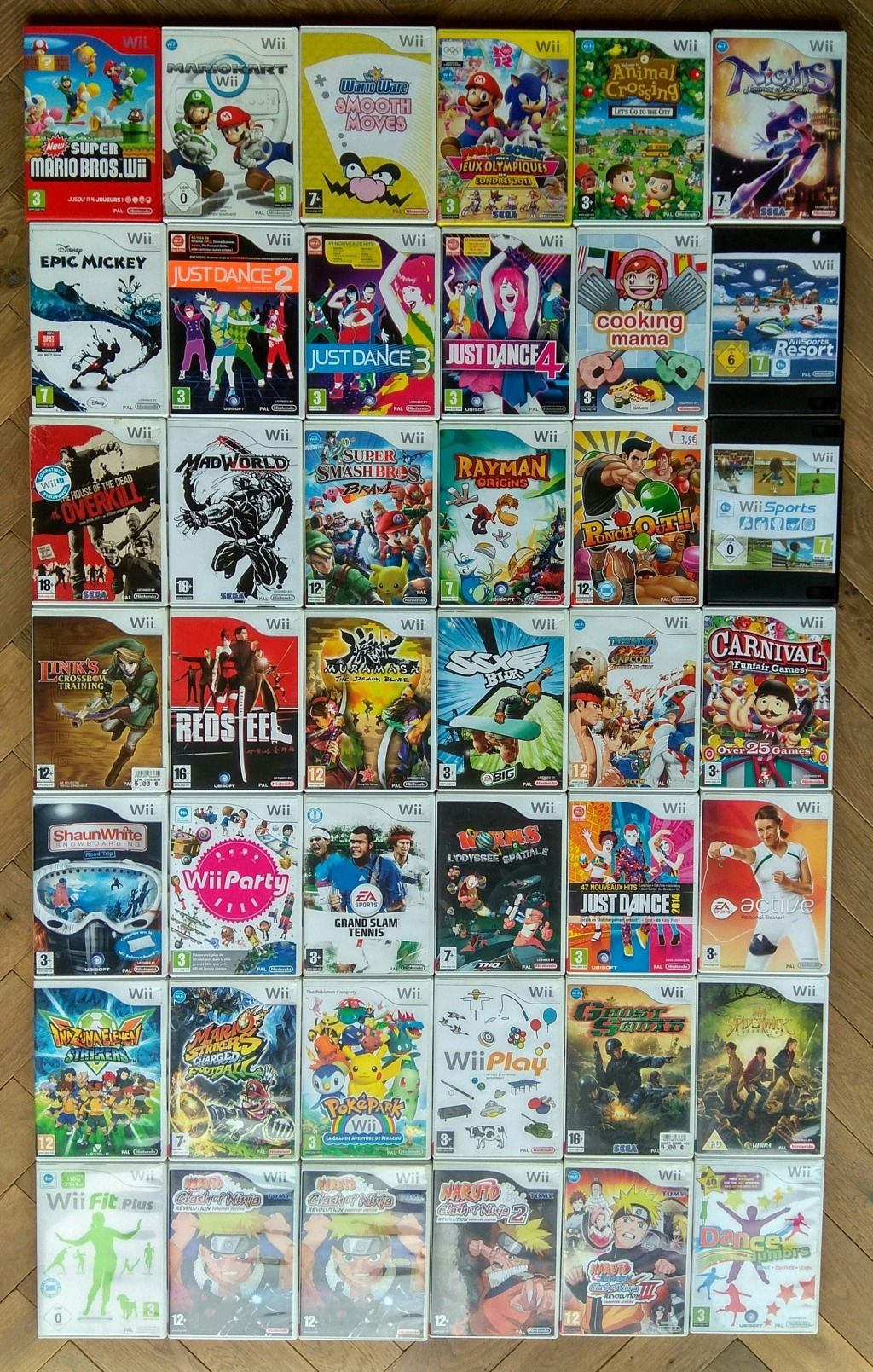 Collection Wii de Davlar Img_2446