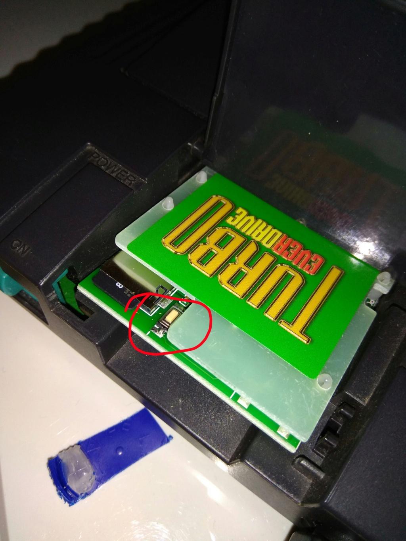 (PCE) DIY  - bouton reset everdrive pcengine duo Img_2470