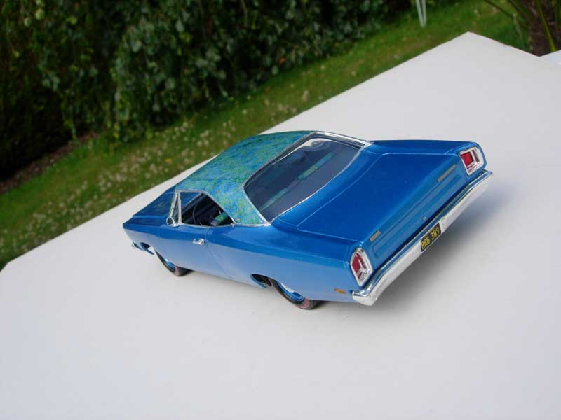 "1969 Plymouth Satellite ""Mod top"" 313"