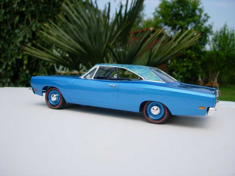 "1969 Plymouth Satellite ""Mod top"" 611"