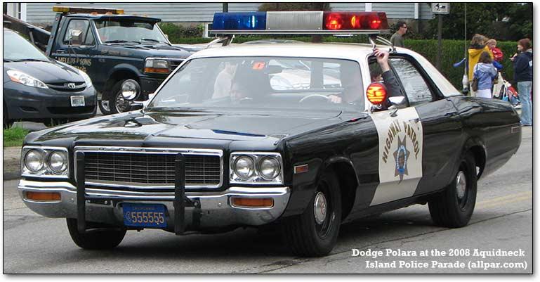 1973 Dodge Polara CHP  Polara10