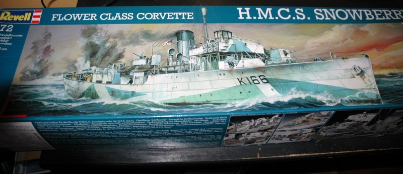 Revell Flower-Class Corvette 1/72 - RC-Baubericht als Deutsches PA 4 der KM 115